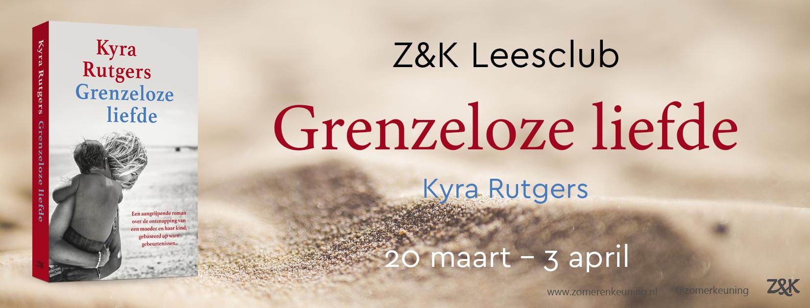 Z&K leesclub Grenzeloze liefde 20 maart - 3 april